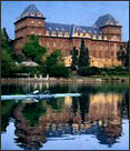 The Valentino Castle on the Po river